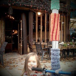 yarn bombing vancouver