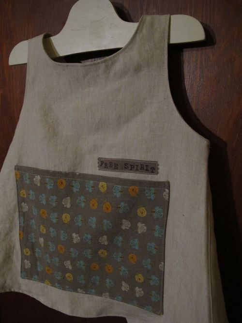 carefree clothes apron