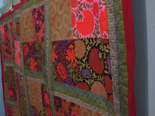 patchwork quilt by stitchrabbit 2
