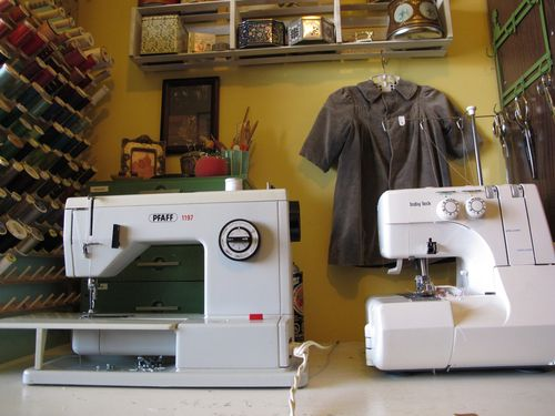 sewing studio machines
