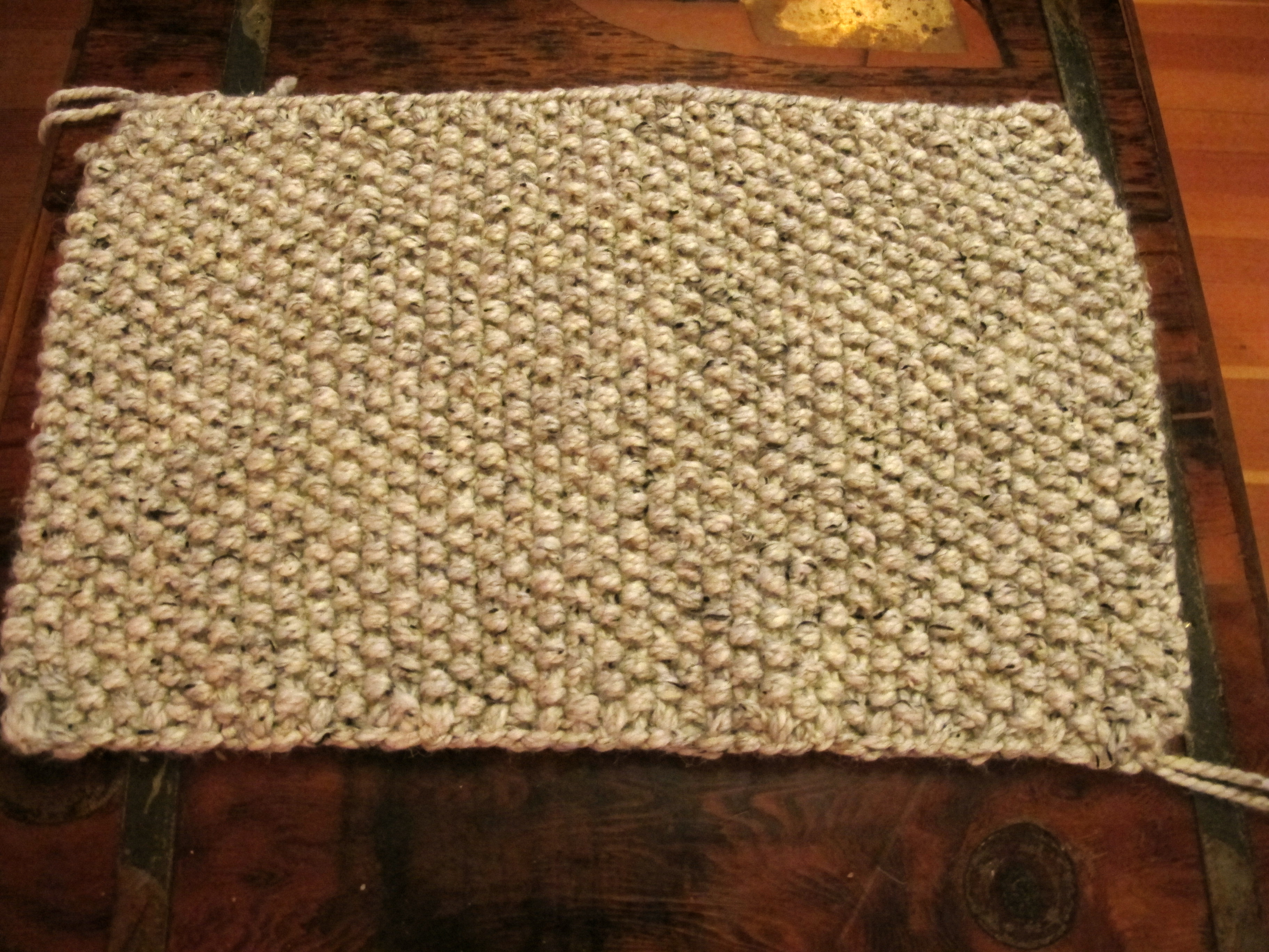 Easy As Pie Knitted Basket Stitch Rabbit