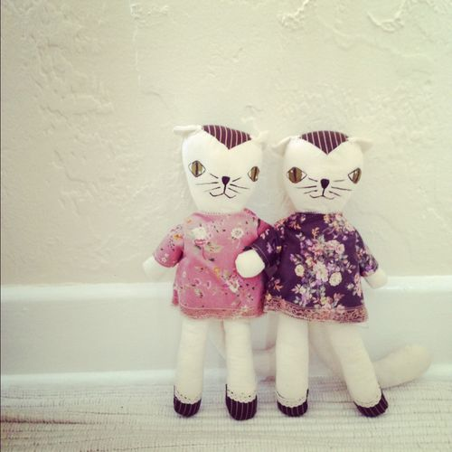 Wee Wonderfuls Cat Doll