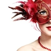 9314144-the-beautiful-young-woman-in-a-red-mysterious-venetian-mask