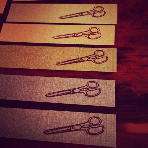 stitch rabbit scissor tag