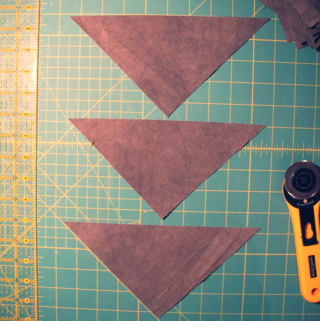 triangles natural dyeing