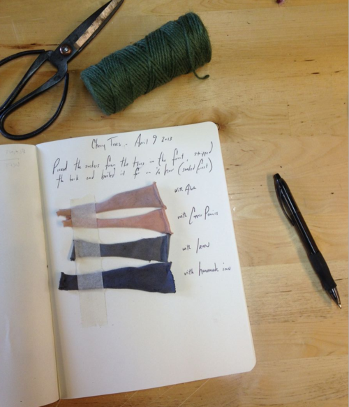 natural dyeing notes
